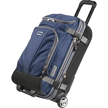 eBags TLS Mother Lode Mini 21  Wheeled Carry-On Duffel (Blue Yonder)