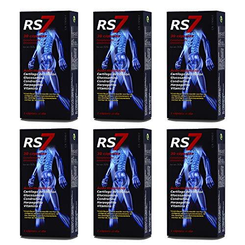 RS7 Articulaciones 180 Cap Family Pack + Muestra gratuita Crema Fisio Forte