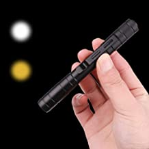Meiyiu LED Mini Flashlight Medical Pen Light White Light + Warm Light