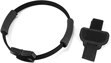 Basumone Ring-Con Controller and Leg Strap Set - Ring Fit Adventure Accessories Replacement With Ring-Con Controller, Grip...