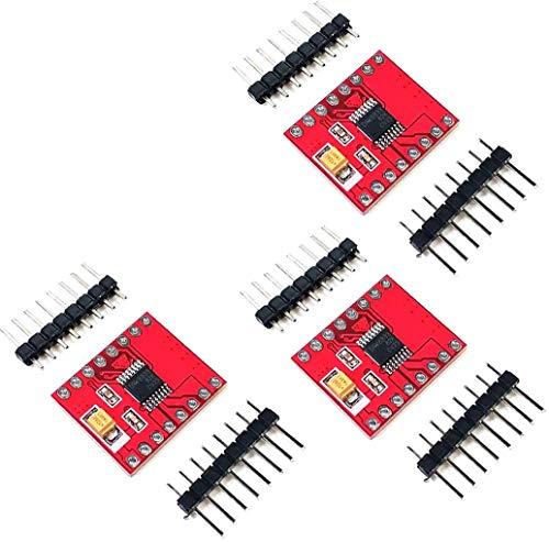 ZHITING 3 Piezas Controlador de Motor Dual DRV8833 Compatible con TB6612 para microcontrolador Arduino Mejor Que L298N