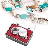 TMISHION Portátil de Mano 20X Lupa Lupa Joyería Relojes Herramienta Accesorio de joyería Ayudando a la valoración de Joyas, Sellos y Monedas para Gemas, Joyas, Monedas, Sellos, etc.