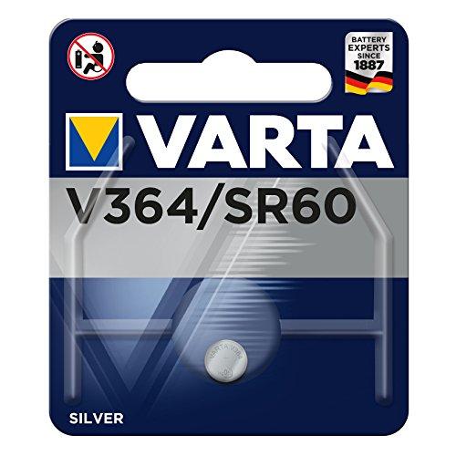 Varta V 364 1,55 V 20 mAh Uhrenzelle, silber