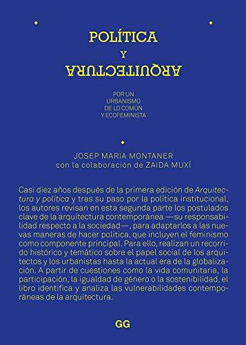 Política y arquitectura: Por un urbanismo de lo común y ecofeminista