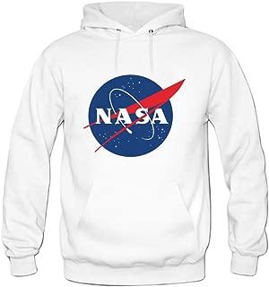Andrea Sotaski NASA Logo Mens Hoody Sweatshirt