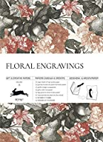 Floral Engravings: Gift & Creative Paper Book Vol. 79 (Gift & Creative Papers Vol 79)