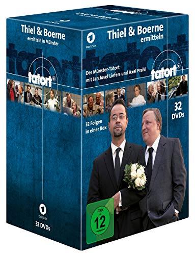 Tatort Münster - Thiel & Boerne ermitteln / Fall 1-32 [32 DVDs]