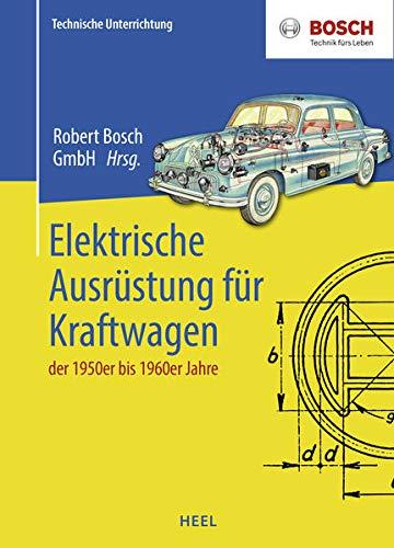 Elektrische Ausrüstung für Kraftfahrzeuge der 1950er bis 1960er Jahre