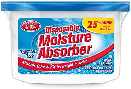 Home Select Dehumidifier Disposable Moisture Absorber 6 3 Oz product image
