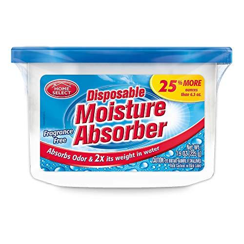 Home Select Dehumidifier Disposable Moisture Absorber, 6.3 Oz