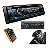 Pioneer DEH-S4200BT Single-DIN Bluetooth in-Dash CD/AM/FM Car Stereo Receiver w/Smart Sync, Pandora Control