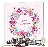 Adventskalender Kosmetik MakeUp Advent Calendar Beauty Damen Women Teens Mädchen Weihnachtskalender Elch Rosa