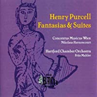Fantasias And Suites (Harnoncourt, Mahler, Hartford Co) by Henry Purcell (2004-06-08)