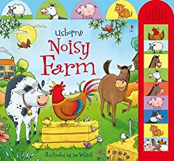 board books, noisy, animals, farm, kids,
