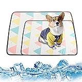 DMFSHI Estera Fresca para Mascotas, Alfombrilla De Refrigeración...
