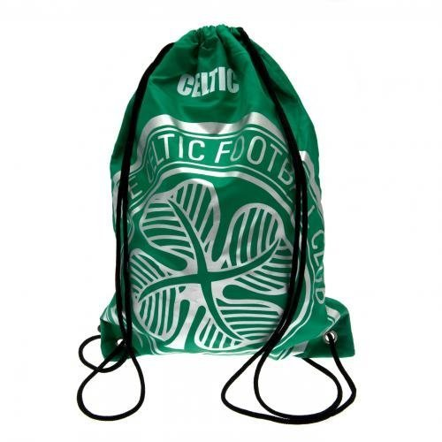Celtic Foil Print Gym Bag Official Football Club Fc Sports Training Trainers by Celtic F.C.