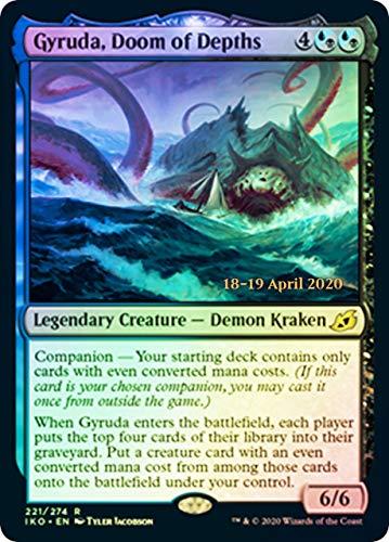 Magic: The Gathering - Gyruda, Doom of Depths - Foil - Prerelease Promo