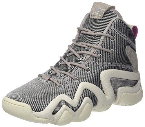 adidas Damen Crazy 8 ADV Gymnastikschuhe, Grau (Platin Met.s16/platin Met.s16/off White), 40 2/3 EU
