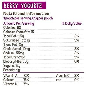 GoGo squeeZ yogurtZ, Variety Pack (Blueberry/Berry), 3 Ounce (60 Pouches), Low Fat Yogurt, Gluten Free, Pantry-friendly, Recloseable, BPA Free Pouches #2