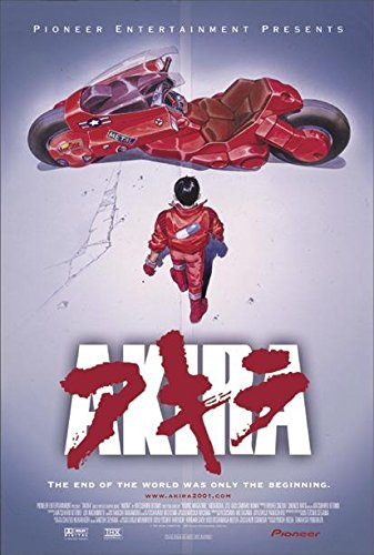 Close Up Poster Akira 2001 Re-Release (68cm x 101,5cm) + Un Poster Surprise en Cadeau!