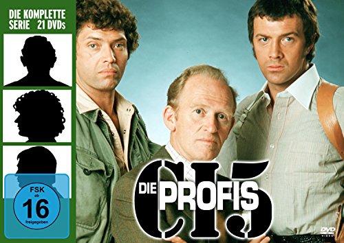 Die Profis - Die komplette Serie (21 Discs)