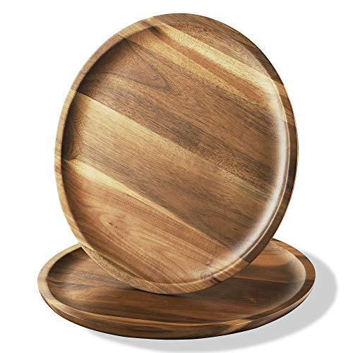 acacia wood plates - 3
