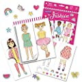 Educational Insights PaperCraft Fashion Parade, Paper Dolls, Fashion Boutique Toy, Ages 3+ by Educational Insights