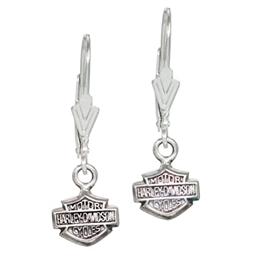 0cad95585e Harley-Davidson Women s Bar   Shield Dangle Earrings HDE0088