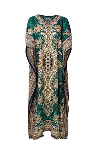 Vestido para mujer Rubina Kapoor verde Talla única