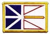 Flaggen Aufnäher Kanada Neufundland und Labrador Fahne
