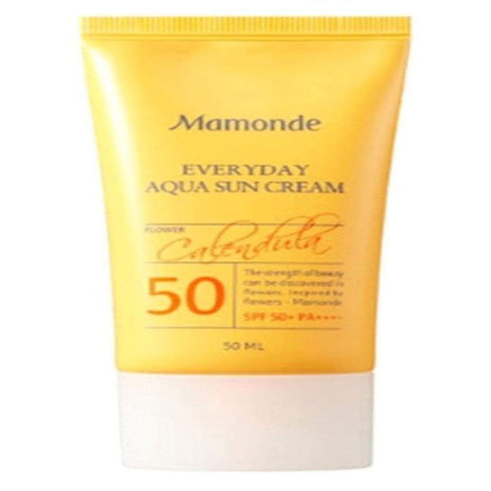 許可する天のバレエ[Mamonde] マモンドゥエブリデーアクア日焼け止めクリームSPF50+PA++++、紫外線遮断剤、水分爆弾、デイリー、日焼け止め、強く遮断[並行輸入品]