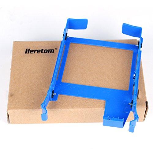 Heretom - Soporte Bandejas de Disco Duro Caddie 3,5' Tray Caddy Para Dell Optiplex 390 790 990 3010 3020 7010 7020 9010 9020 MT SFF Precision Workstations Blue DN8MY PX60023