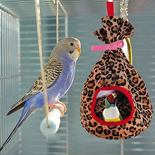 Vogelnest Haus Bett Hut Hängematte Spielzeug Haustier Hängematte Hamster Papageien Zelt Nest Vogel Plüsch Nest Für Kleine Vögel, Hamster, Mäuse, Segelflug Eichhörnchen Chinchilla