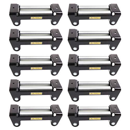 Read About CTCAUTO 10Pcs ATV UTV Winch Roller Fairlead 4WD F-WD Cable Lead Guide,8000-17000lbs