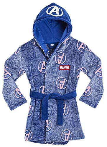 Marvel Avengers Albornoz para Niños, Bata Niño Brilla En