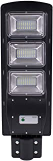 GXOK [Ship from USA Directly],Solar Street Light, 90W Solar Street Light LED Solar PIR Motion Sensor Wall Timing Lamp Landscape Lights,Garden Decoration Light 23.6x7.87in
