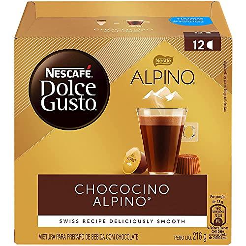 Café em Cápsula, Nescafé Dolce Gusto, Chococino Alpino, 12 Cápsulas