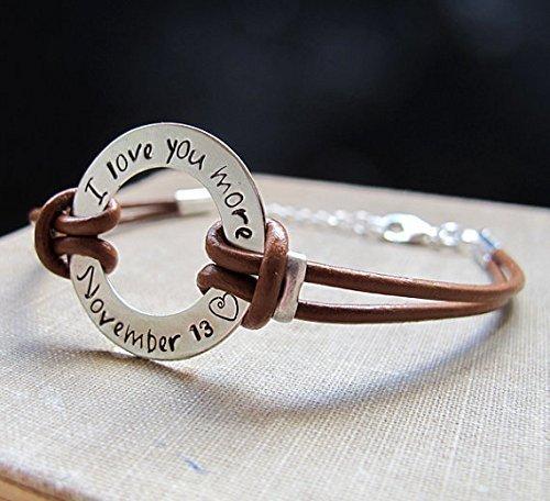 Men's Adjustable Personalized Bracelet