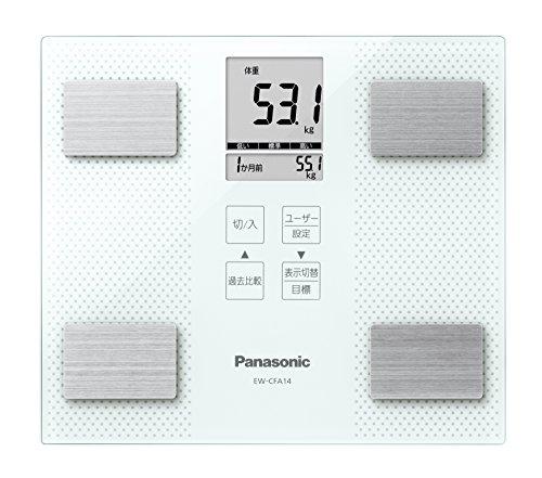 パナソニック 体重・体組成計 ホワイト EW-CFA14-W