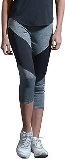 Yoga Pants for Women Hot Yoga Crops High Waisted Capri Athletic Legging (S2-21312)
