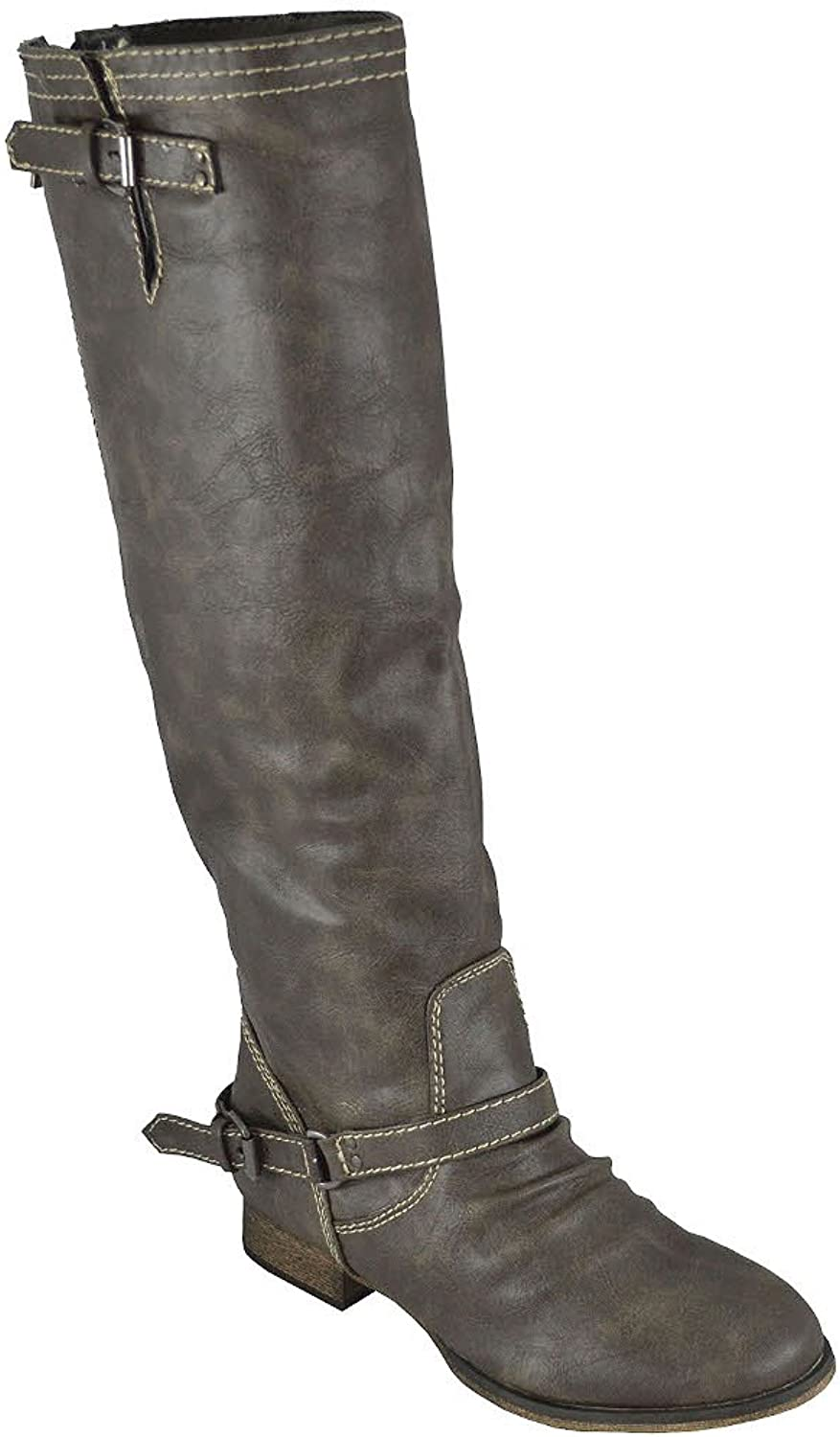 Breckelles Womens Outlaw-91 Knee High Riding Boot