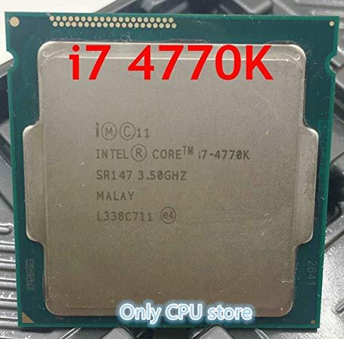 Processor i7 4770K Quad Core 3.5GHz LGA 1150 TDP 84W 8MB Cache with HD Graphics 4600 Desktop CPU