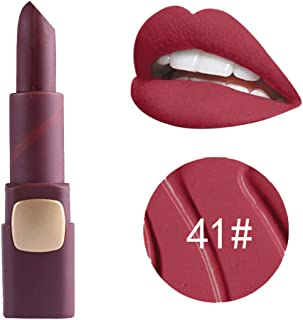 Lipstick gLoaSublim,Matte Moisturizing Makeup Lipstick Waterproof Women Party Cosmetic Beauty Tool - 41#
