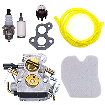 FitBest Carburetor with Air Filter Fuel Line/Filter for Husqvarna 235 235E 236 236E 240 240E Chainsaw Replaces 574719402 545072601 Carb