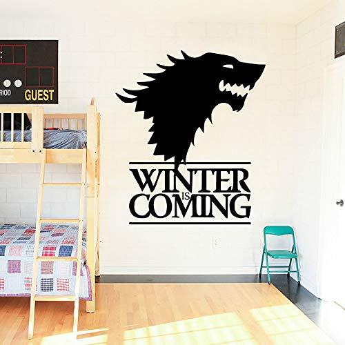 Tianpengyuanshuai Europäischen Wolf wandkunst Aufkleber wandaufkleber PVC Material Baby kinderzimmer Dekoration Aufkleber Dekoration 63X100,5 cm