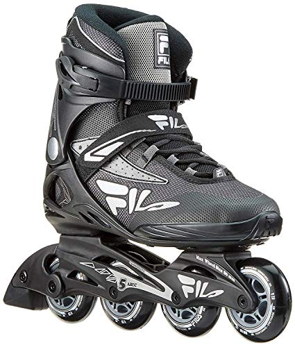 Fila Herren Legacy COMP Inline Skate, schwarz/grau, 10