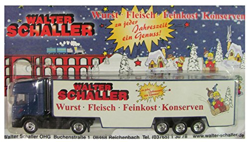 Walter Schaller Delikatessen Nr. - zu jeder Jahreszeit EIN Genuss - Scania - Sattelzug
