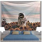 Tapisserie Wandbehang Wandteppiche Indisch Mandala Hippie Astronaut Galaxy Planet Space-11_XL-175X230cm Bohemien Wandtuch Tapisserie wandbehang Tapestry Psychedelic Boho Stil als Dekotuch Tagesdecke