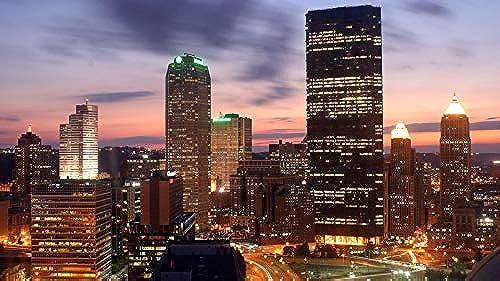 clásico atemporal Jigsaws Puzzle 1000 Piece Puzzles Pittsburgh Buildings Buildings Buildings Night City Cityscape Para Niños Adultos Festival Regaño  lo último