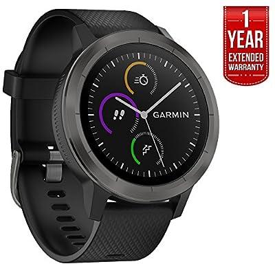 Garmin Vivoactive 3 GPS Smartwatch Black